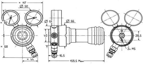Reduktor ciśnienia SI 220 firmy ROTAREX